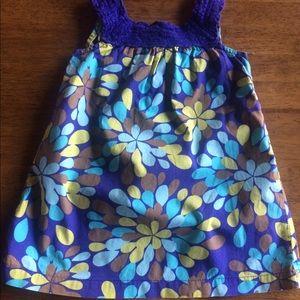 24m Cherokee cotton dress
